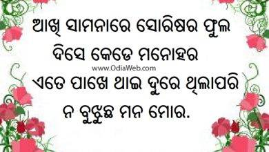Photo of Akhi Samanare – Odia Latest Shayari
