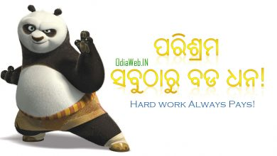Photo of Oriya Proverb – Hard work always pays