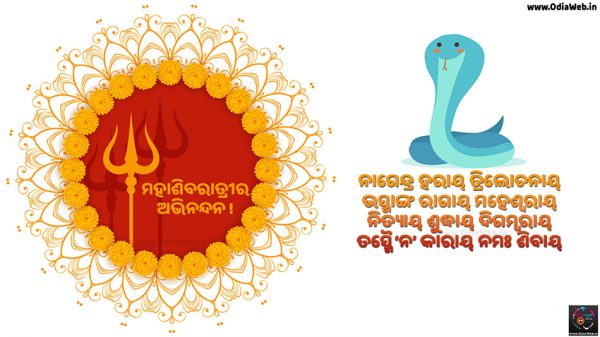 Maha Shivaratri (Jagara) Exclusive Odia wish wallpaper