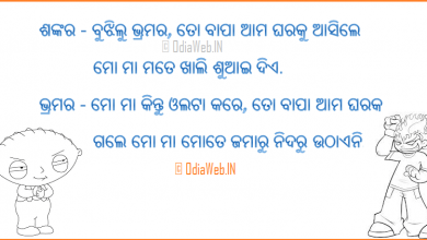 Photo of Oriya Joke Commedy FaceBook Comment Photo