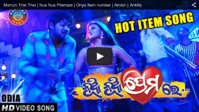 Photo of Odia Hot Item Video of Nua Nua Premare – Mamuni THei Thei