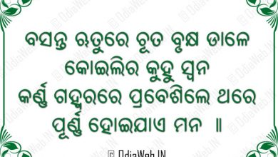 Photo of Odia Images Sms Shayari Basanta Rutu