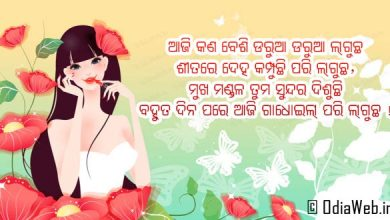 Odia WhatsApp Status Message Latest Odia Shayari Text