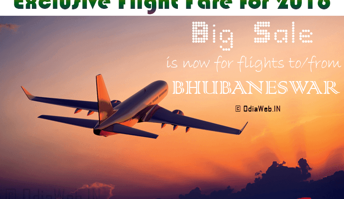 flight fare from bhubaneswar