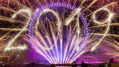 New Years eve in London 2019