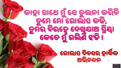 Rose Day Odia Sms 2019
