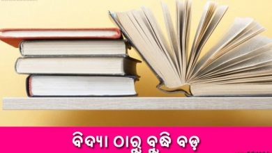 Photo of New Odia Short Story Bidya Tharu Budhi Bada