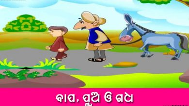 Photo of New Odia Short Story Bapa, Pua o Gadha