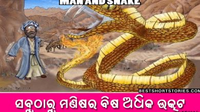 Photo of New Odia Short Story Sabutharu Manishara Bisha Adhika Utkata
