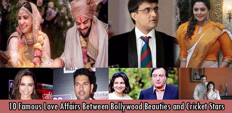 10 Famous Love Affairs Between Bollywood Beauties and Cricket Stars