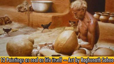 12 Paintings as real as life itself – Art by Raghunath Sahoo