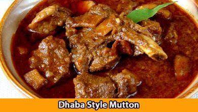 Dhaba Style Mutton.