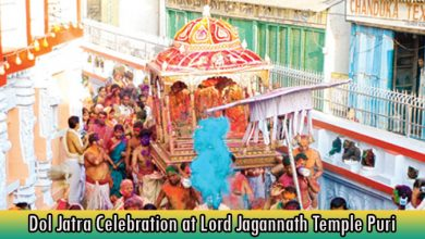 Dol Jatra Celebration at Lord Jagannath Temple Puri