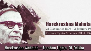 Harekrushna Mahatab – Freedom Fighter Of Odisha