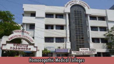 Homoeopathic Medical Colleges