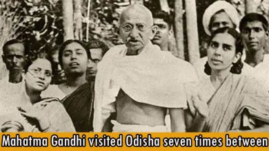 Mahatma Gandhi visited Odisha seven times between 1921-1946 before independence