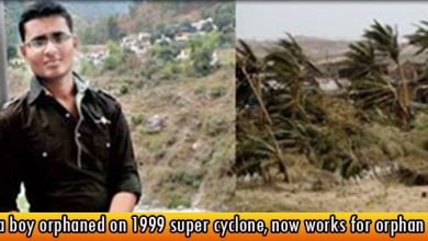 Odia boy orphaned on 1999 super cyclone, now works for orphan kids