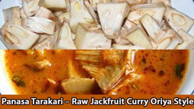 Panasa Tarakari – Raw Jackfruit Curry Oriya Style.
