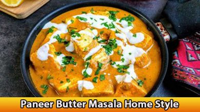 Paneer Butter Masala Home Style