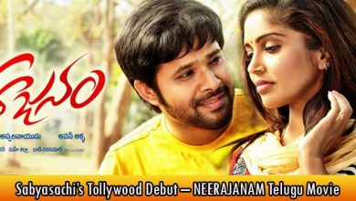Sabyasachi's Tollywood Debut – NEERAJANAM Telugu Movie
