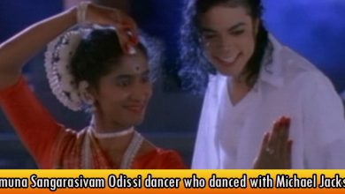 Yamuna Sangarasivam Odissi dancer who danced with Michael Jackson