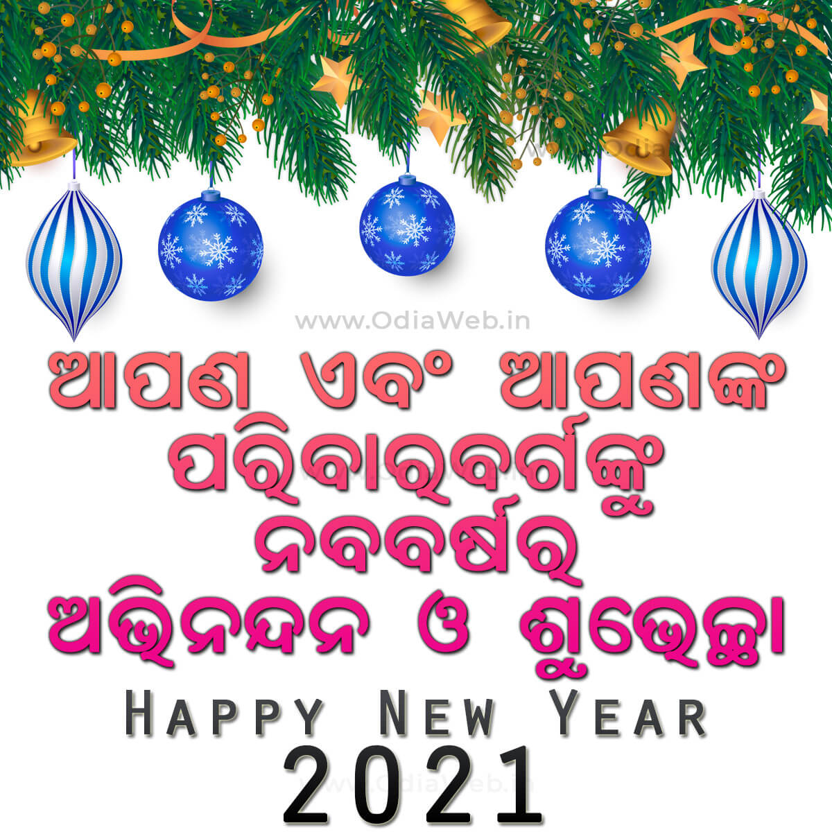 Happy New Year 2021 Wish In Odia