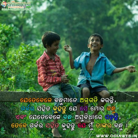 Odia Frienship Quotes 2