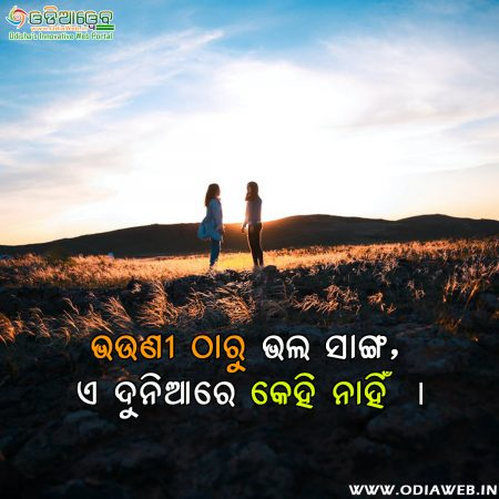 Odia quotes on Sister Friendship