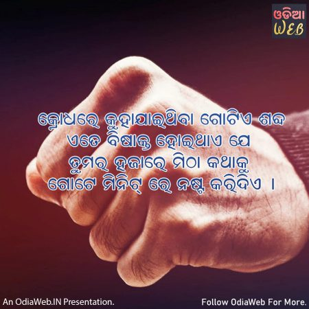 Odia Anger Quotes4