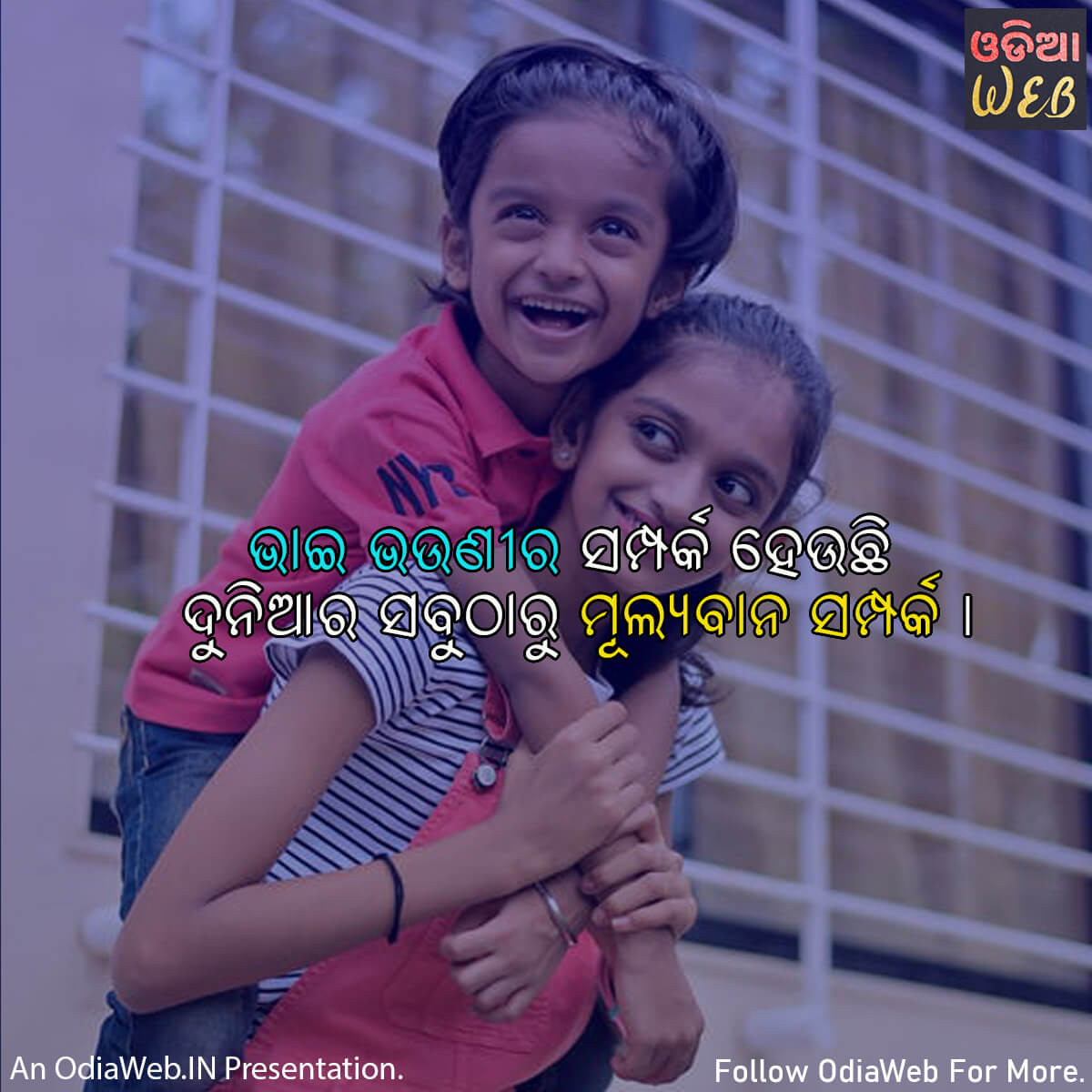 Odia Brother & Sister Quotes2