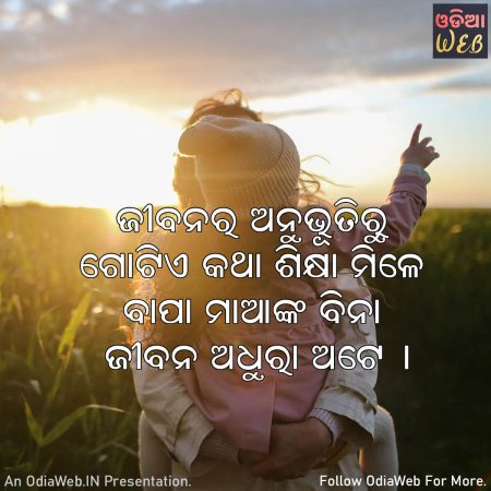 Odia Experience Quotes