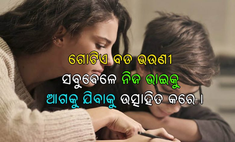 Odia Quotes on Brother & Sister