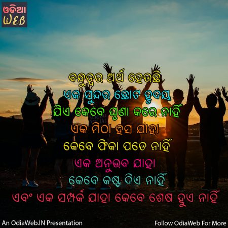 Odia friendship quotes2